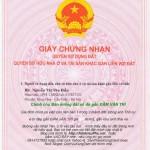 Cần bán 86m2 (5×17,2) đất Thái Bình Mai Lâm