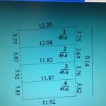 Cần bán 45,6 m2 (3,8×12) đất thổ cư Đông Ngàn Đông Hội
